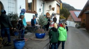 Adventsmarkt an der Sonnleiten 2016 in Wallgau