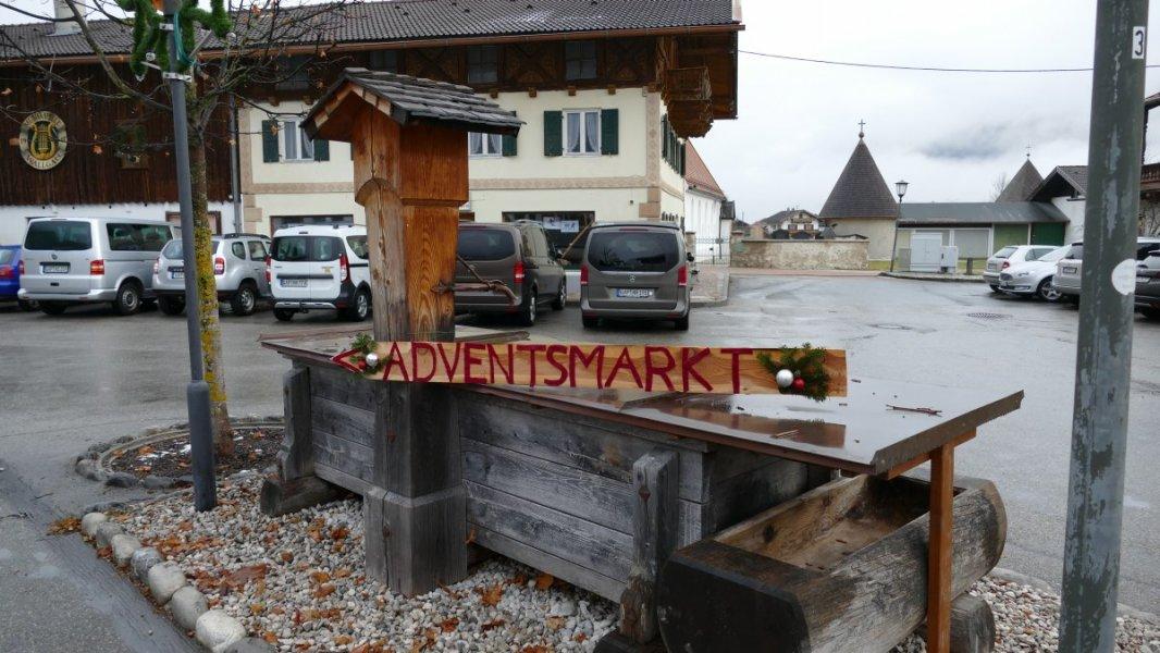 Adventsmarkt Wallgauer Adventsmarkt der Sinne 2018 an der Sonnleiten, zwei Stunden vor der Eröffneung noch zwei Stunden (48)