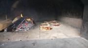 Wallgauer Adventsmarkt der Sinne 2018 an der Sonnleiten. Samstag 01.12.2018. Fleckerl am Stand der Tiefenbrunners