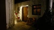 Adventsmarkt an der Sonnleiten Wallgau 2018. Noch zwei Tage. Beleuchteter Eingang zum...?