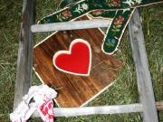 Alpen Kult Quadrat Herz 1