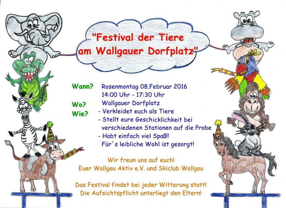 Wallgau Aktiv Festival der Tiere 08.02.2016