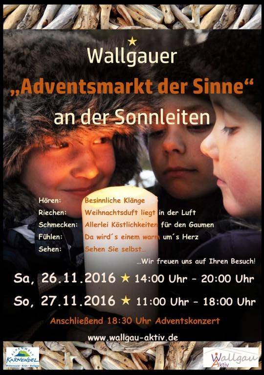 Adventsmarkt Wallgau 2016
